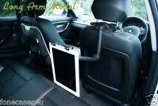 Long Arm Car Holder for iPad, Google Nexus Tablet, iPad Mini and Android Tablets