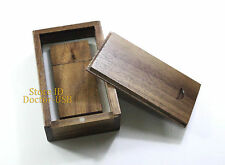 10PCS 8GB Magnetic Walnut Wood Case USB Drive Memory Flash Stick Wooden Pendrive