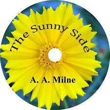 The Sunny Side, A. A. Milne 49 Adult Short Stories Audiobooks on 6 Audio CDs
