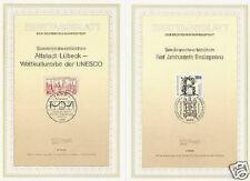 BRD 1990: Lübeck und Riesling! Ersttagblätter der Nr. 1446+1447! 1605