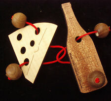 Double Trouble String Puzzle - Wine & Cheese model - Brain Teaser