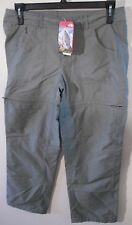 NWT North Face Womens Horizon 2 Convertible Pants 16 Reg Sedona Sage Grey $70