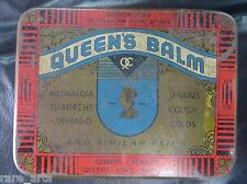 VTG. Ayurveda Medical TIN SIGN Box QUEEN'S BALM GERMSKUTTER FOR RING WORM ITCHES