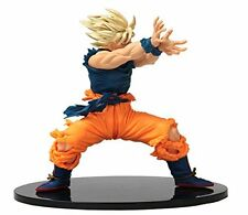 Goku Dragon Ball Z Scultures Figure Banpresto   Super Saiyan Action Fig