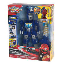 POWER RANGERS SUPER MEGAFORCE DELUXE DX Q-REX Megazord Action Figure