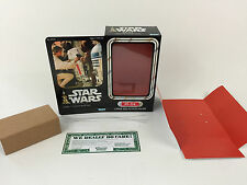 "custom Vintage Star wars 12"" r5-d4 box + inserts"