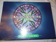 Who Wants to be a Millionaire Board Game for 2 to 5 players Ages 12 & Up