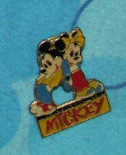 Disney Pin Vintage MICKEY AND MINNIE MOUSE JOURNAL DE MICKEY  LOVERS Pins