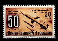 TURCHIA - 1961 - Cinquantenario dell'aviazione militare turca.