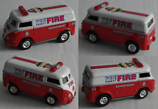 "Johnny Lightning – VW T1 Transporter ""PEZ County Fire Department"""