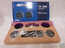 "IMPULSE TX400 CAR AUDIO 7/8"" HARD DOME SPEAKERS TWEETERS"