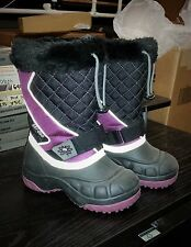 Ski-Doo Youth Flip Boots - Purple / 11 - 4441933136