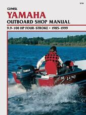 Clymer Yamaha Outboard Shop Manual: 9.9-100 HP Four-stroke, 1985-1999-ExLibrary
