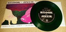 "SHOOK ONES - Slaughter Of The Insole 7""  GREEN WAX (500 COPIES) SXE NYHC JUDGE"