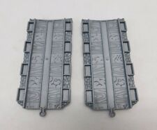 """Lot of 2 Thomas & Friends Take Along N Play Gray Track 3'5"""" Straight Adapter TTT"""