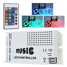 24 Chiave IR Wireless RGB Striscia LED Luce Musica Sound Controller Dimmer