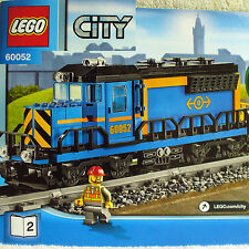 Lego Diesel Engine Locomotive+Power Functions City Cargo Train 60052-Book 2 only