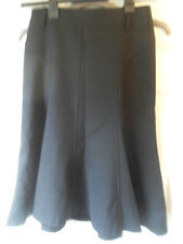 Ladies black A line flared skirt size 8 by Zara Woman