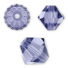Swarovski Crystal Bicone. Tanzanite Color. 4mm. Approx. 144 PCS. 5328