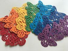 Martha Stewart Butterfly Punch Scrapbooking 35 Pcs Rainbow Cardstock Confetti