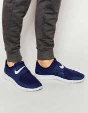 NIKE FREE SOCFLY Trainers Shoes Gym Running Casual Velcro - UK 8 (EUR 42.5) Navy