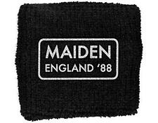 OFFICIAL LICENSED - IRON MAIDEN - ENGLAND 88 SWEATBAND/WRISTBAND EDDIE