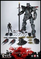 "ThreeZero 3A Full Metal Ghost Shadow Blade 16.5"" Action Figure Retail Hot Toys"