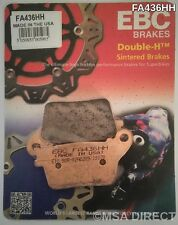Honda CBR600RR (2007 to 2016) EBC Double-H Sintered REAR Brake Pads (FA436HH)