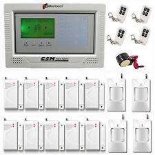 LCD & Touch Keypad Wireless GSM Autodial DIY Home Burglar Alarm Security System