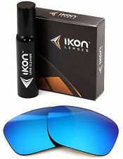 Polarized IKON Iridium Replacement Lenses For Oakley Sideways Ice Blue Mirror
