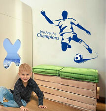 Fútbol Sport Boys Bristol Rovers Calcomanías de Pared Pegatina Transparente