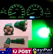 Green LED Dash Gauge Light Kit - Suit Ford F150 F250 F350 97-98 + HVAC