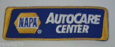 NAPA AUTOCARE CENTER EMBROIDERED SEW IRON ON  PATCH BADGE REPAIR  OVERALLS