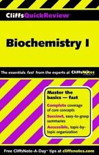 CliffsQuickReview Biochemistry I Cliffs Quick Review Paperback