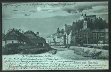 Brunico ( Bruneck / Bolzano ) : Gruss aus ... - viaggiata 1899 per Weidlingau