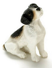 Dollhouse Miniature Dog Jack Russell Terrier Falcon Minis 1:12 Scale