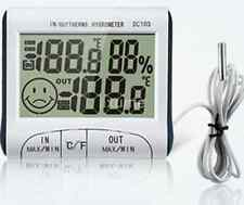 Digital LCD Outdoor Room Thermometer Hygrometer Max Min Temperature Humidity US