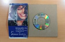 "JANET JACKSON Love Will Never Do Without You CD 8cm  3"" SINGLE JAPAN PCDY10021"