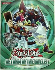 Yu-Gi-Oh Poster Official Konami Return of the Duelist 2 Sided NEW