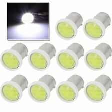 10x T4W BA9S COB 6SMD CAR LED LIGHTS BULB License Plate 12V Interior Lamp White
