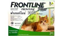 Frontline Plus for Cat Pet Repel Flea Tick Remedy Control for 3 MONTHS Doses
