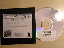 Pennywise/CD Rom Press Kit inkl. Video Interview/PC
