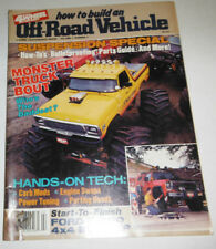 Off-Road Vehicle Magazine Suspension Special Monster Trucks 1986 080814R