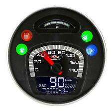 Vespa PK 50 80 100 125 XL BLACK V2 SIP Digital Speedo & Rev Counter