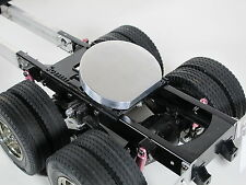 Tamiya RC 1/14 King Hauler Semi Custom 5th wheel coupler aluminum Cover Plate
