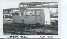 7A700A RP 1964 BOSTON & MAINE RAILROAD MATISA RAIL CAR BM 500 BOSTON MA