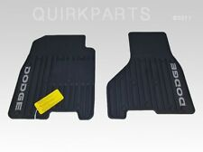2009-2010 Dodge Ram 1500 2500 3500 Slush Mats Front Set MOPAR GENUINE OEM NEW