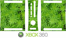 Xbox 360 CANNABIS WEED PLANT Vinyl Skin Decal Sticker