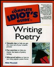 NEW - Complete Idiot's Guide to Writing Poetry by Moustaki, Nikki
