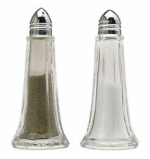 Kitchen Craft Tall Lighthouse Style Glass Salt & Pepper Pot Set Cruites Sets